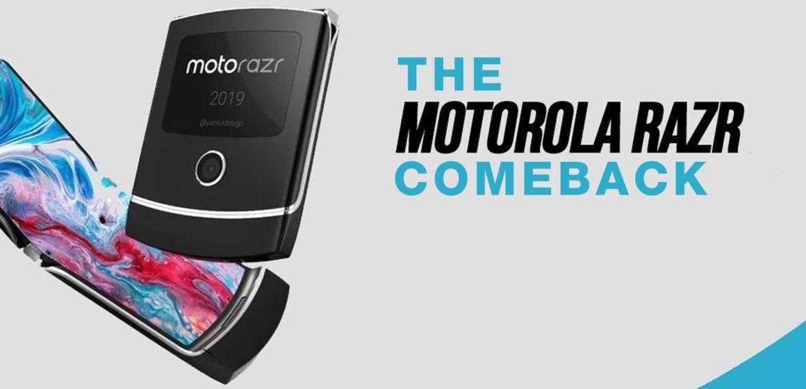 The iconic Motorola Razr flip phone is making a comeback