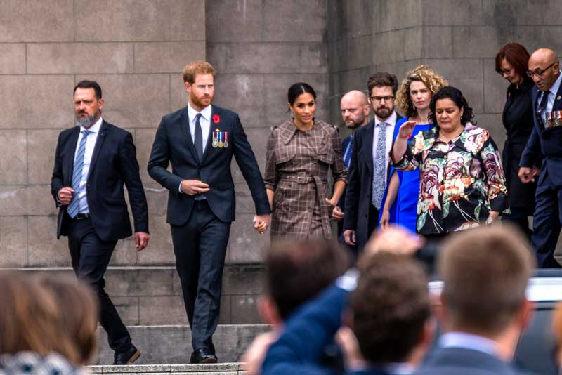 Prince Harry and Meghan begin new life in Canada