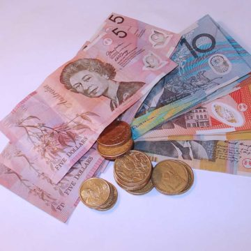 Aussie dollar hits lowest level since '09