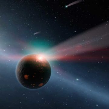Discovery of distant 'iron rain' planet