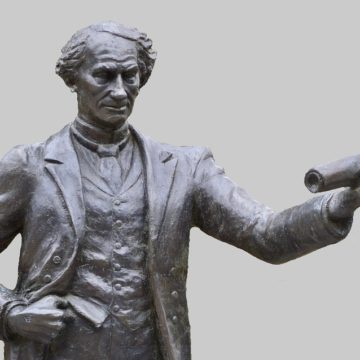 Canadian activists tear down statue of first PM accused of racism