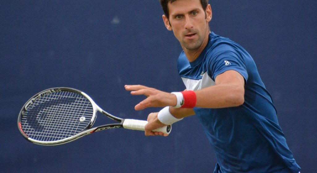 Djokovic out of US open after accidentally hitting line official