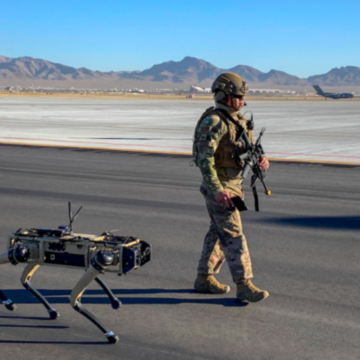 US Air Force to Use 'Robot Dogs' for Base Security