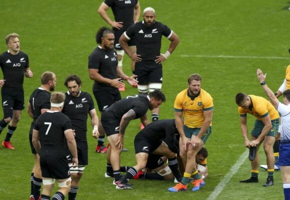 New Zealand 27-7 Australia: All Blacks' Eden Park dominance continues