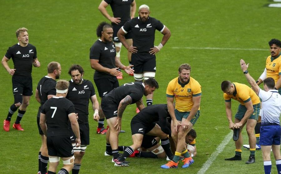 New Zealand 27-7 Australia: All Blacks' Eden Park dominance continues