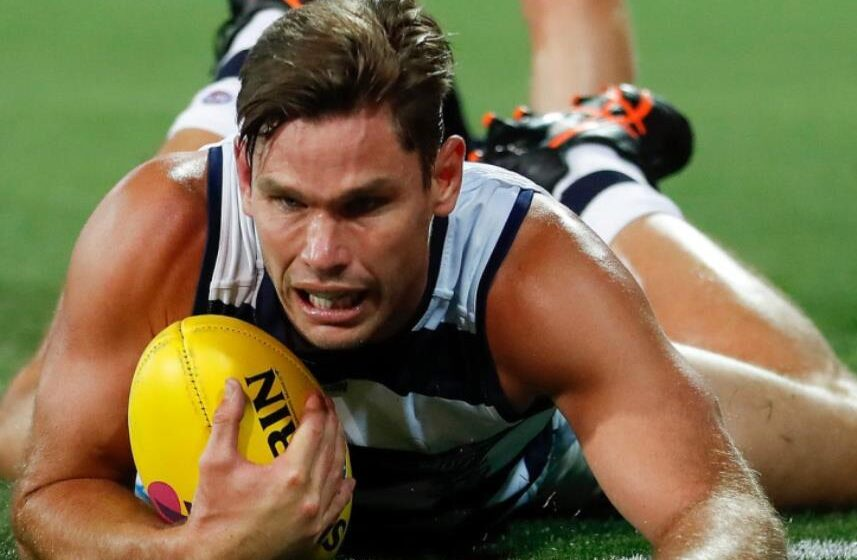 Geelong forward Tom Hawkins quarantined from teammates ahead of AFL grand final