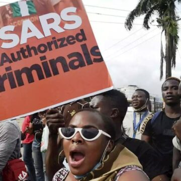 Young Nigerians find voice with the EndSARS protest movement