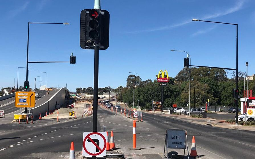 Red-light fines on hold as police retest Adelaide cameras