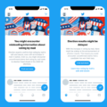 Twitter starts showing all US users election misinformation warnings