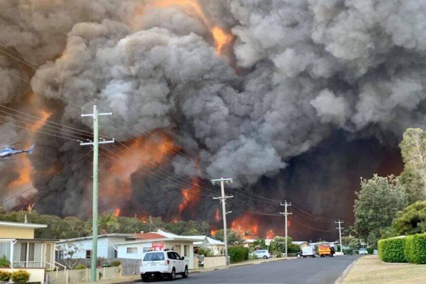 "It's Bushfire season – Be ""air smart"" and ""lung smart"""