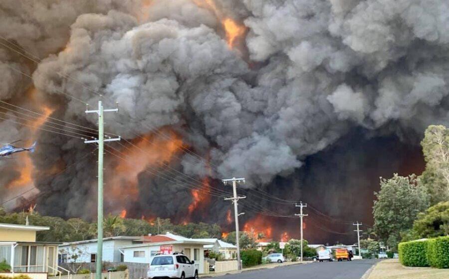 "It's Bushfire season – Be ""air smart"" and ""lung smart"""
