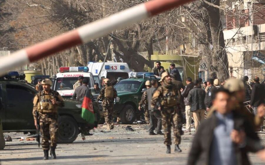 Car bomb kills at least 40 Afghan soldiers