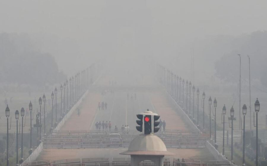 Northern India chokes on toxic smog day after Diwali festival