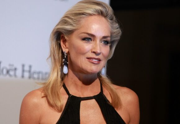 Sharon Stone says she's 'astounded' to model at 62