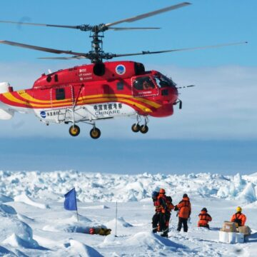 Australian expeditioner evacuated from Antarctica in five-day mission