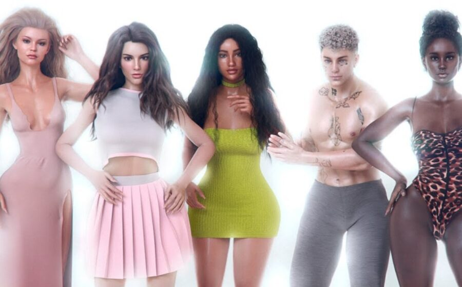 Aussie Teen Taking Over Virtual Model Space With Tech Business Klubb Visuals