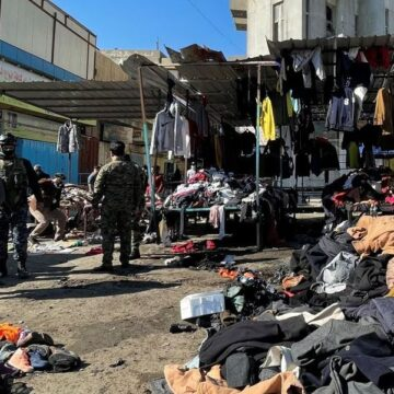 Twin Bombings in Baghdad kill at least 32