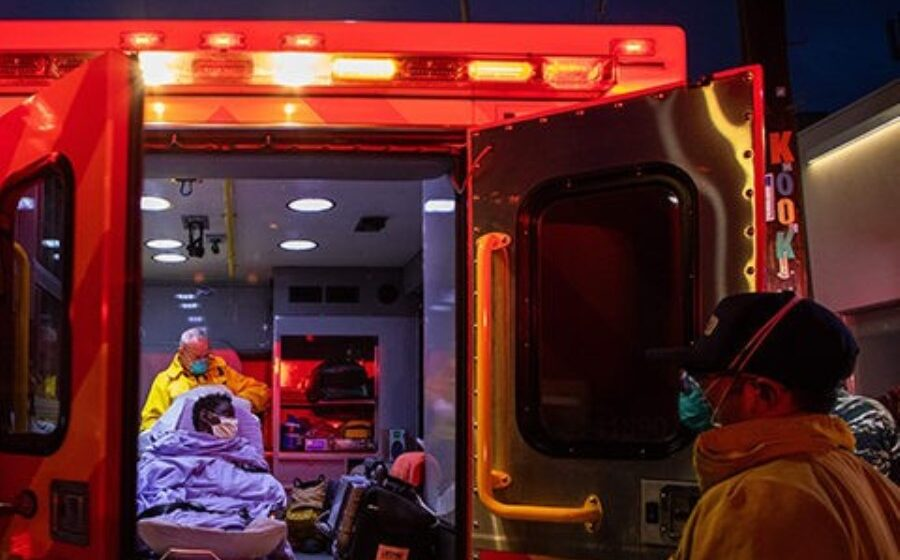 LA ambulances told not to transport some patients to hospital