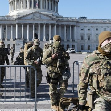 US statehouses fortified ahead of Biden inauguration