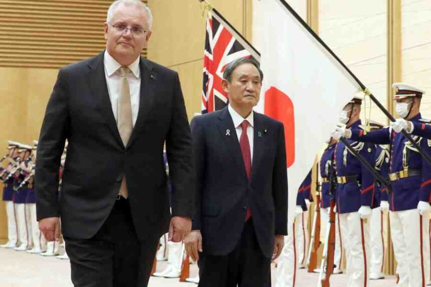 PM Morrison talks China with Japanese counterpart