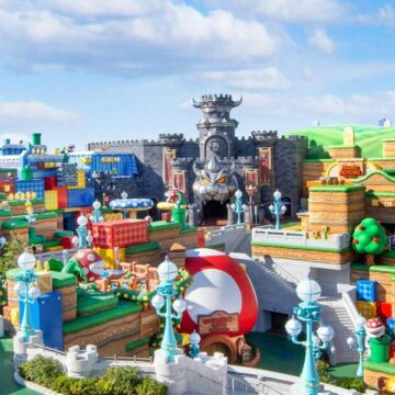 Super Nintendo World opens in Japan after Covid delays