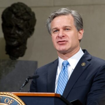 FBI opens a new investigation into China 'every 10 hours,' bureau director says
