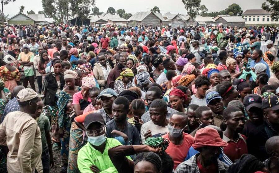 400,000 people flee Goma after warnings of second volcanic eruption in DRC