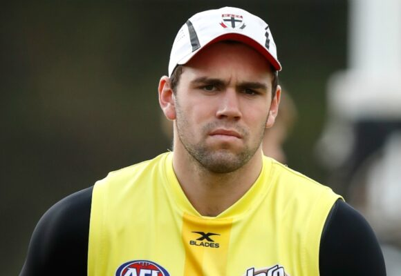 McCartin in strife over sickening hit with Geelong captain