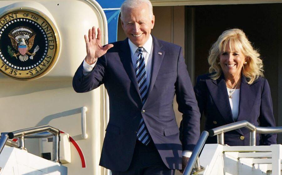 Biden warns Russia against 'harmful activities' at start of G7 trip