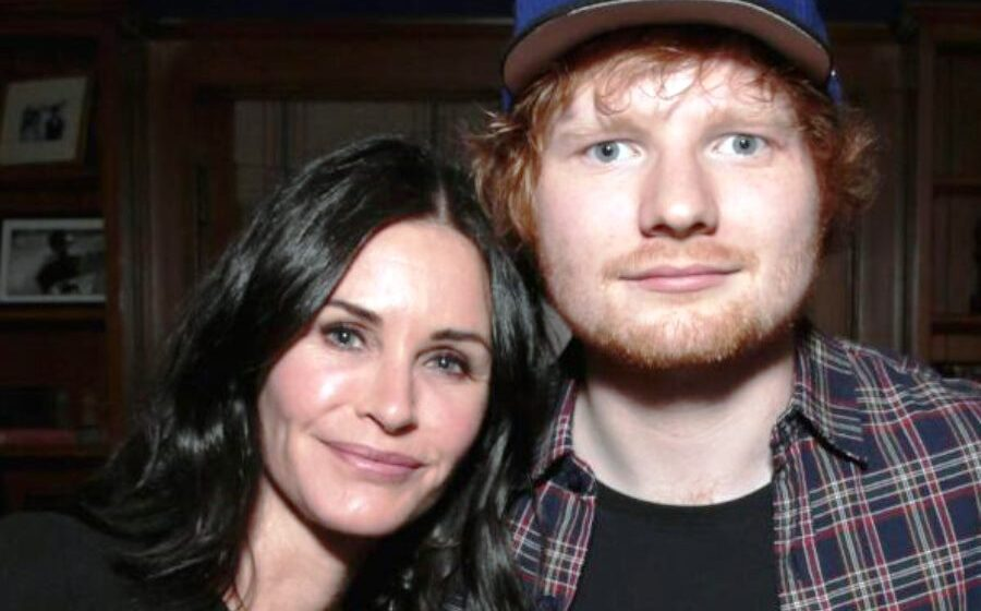 Ed Sheeran and Courteney Cox recreate iconic 'Friends' dance routine