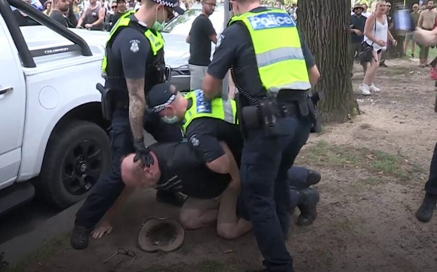 Arrests made at anti-lockdown protests