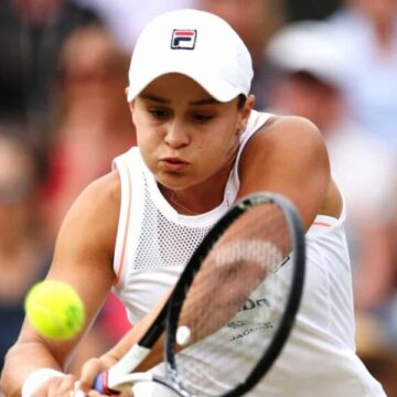 Barty into her first Wimbledon quarters