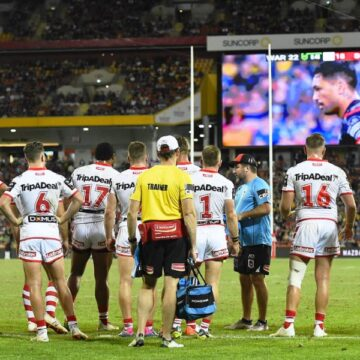 More Dragons drama as 'dirty dozen' players refuse to sign NRL Covid assurance