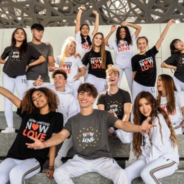 Global Pop Group Now United stages livestream concert from the Louvre Abu Dhabi
