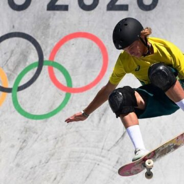 Aussie skater performs 'stealthy' trick for gold in Tokyo