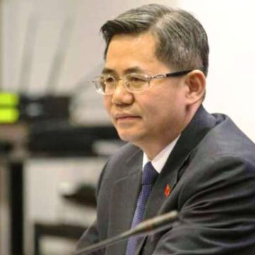 China's ambassador Zheng Zeguang banned from UK Parliament