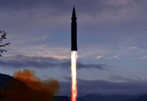 North Korea says it fired new 'hypersonic missile'
